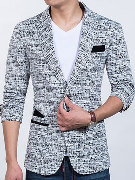 Ericdress Pocket Patched Casual Slim Men's Blazer