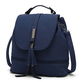 Ericdress Multi Function Tassel Backpack