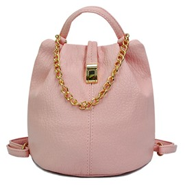 Ericdress Chain Adornment Bucket Backpack