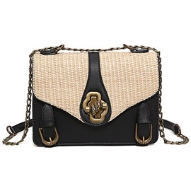 Ericdress Concise Straw Crossbody Bag