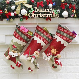 Christmas Lovely Socks 3 Pairs
