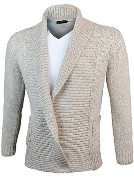 Ericdress Plain Lapel Vogue Men's Knitwear