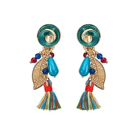 Ericdress Colorful Tassel Bohemia Style Fashion Earring