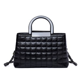 Ericdress Quilted Lining Pattern PU Handbag