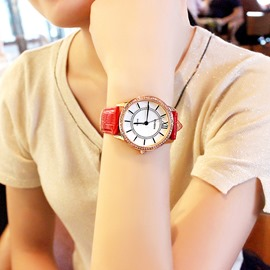 Ericdress Fabulous Waterproof Leather Watch for Women