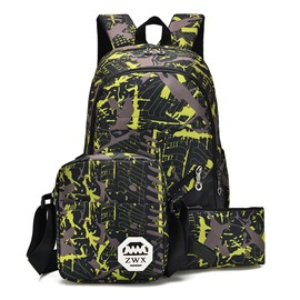 Ericdress Fashionable Camouflage Pattern Canvas Men's Backpack