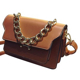 Ericdress Retro Chain Adornment Cross Body