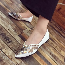 Ericdress Rhinestone Slip-On Flats with Sequin