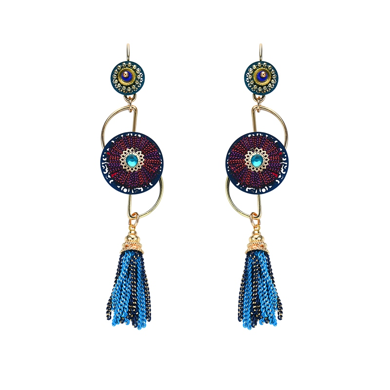 Ericdress Colorful Tassel Womens Fashion Earring