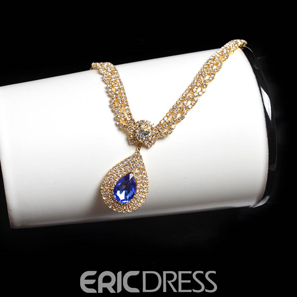 Ericdress High Quality Rhinestone Two-Piece Jewelry Set for Women