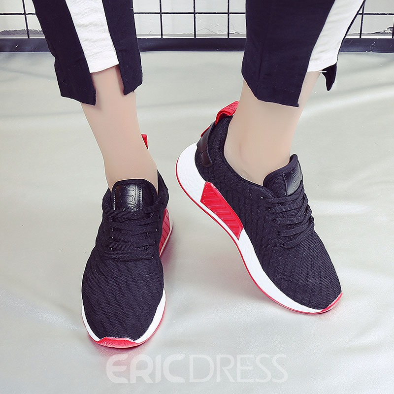 Ericdress All Match Color Block Platform Women's Sneakers