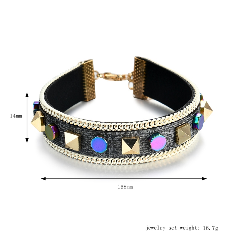 Ericdress Personal Rivet Sparkling Bracelet for Women
