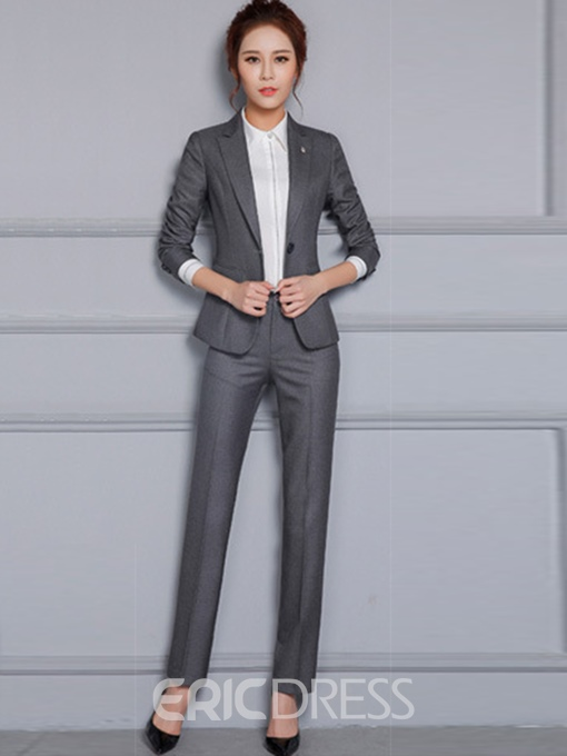 Ericdress Notched Lapel One Button Suits