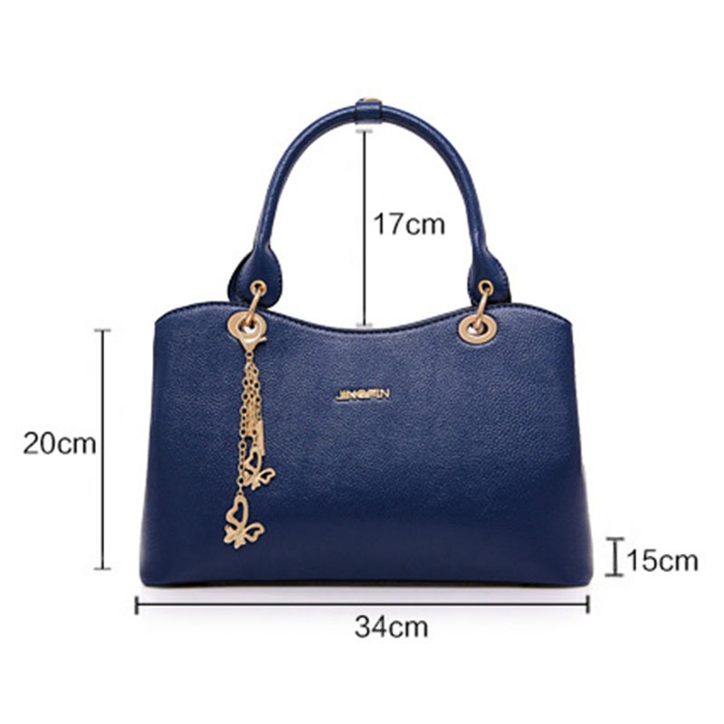 Ericdress Exquisite Pendant Solid Color Handbag
