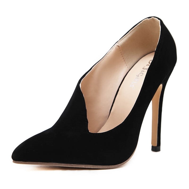 Ericdress Slip-On Pointed Toe Plain Women's Pumps