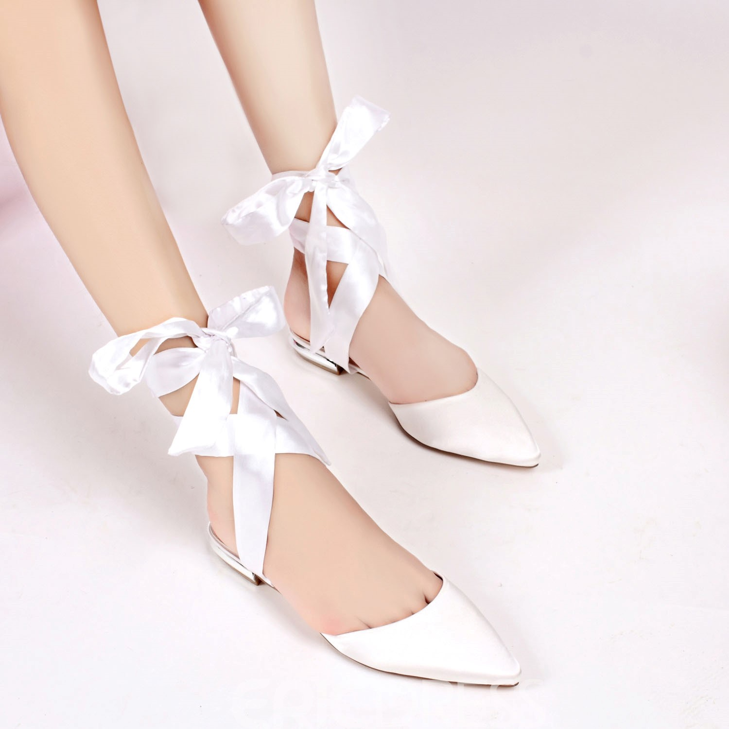 Ericdress Closed Toe Strappy Plain Wedding Shoes