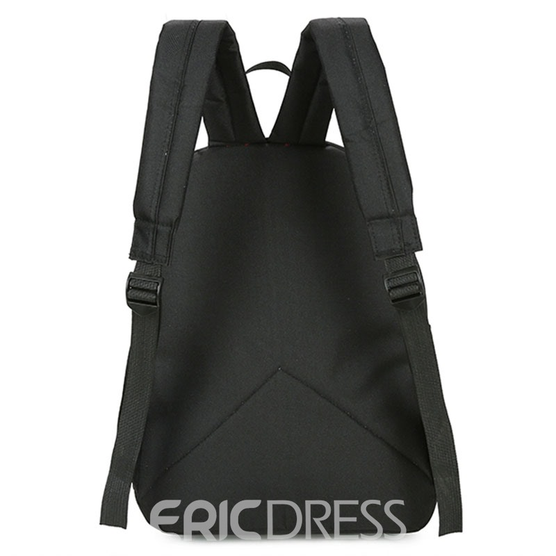 Ericdress Preppy Chic Creative Pattern Backpack
