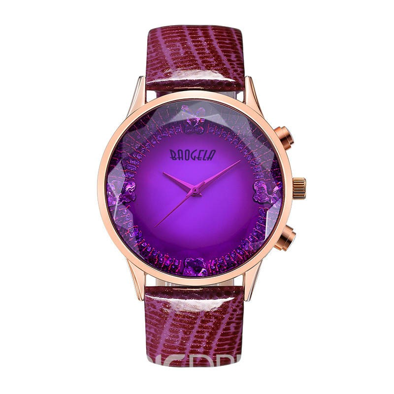 Ericdress Romantic Solid Color Ultra Violet Watch