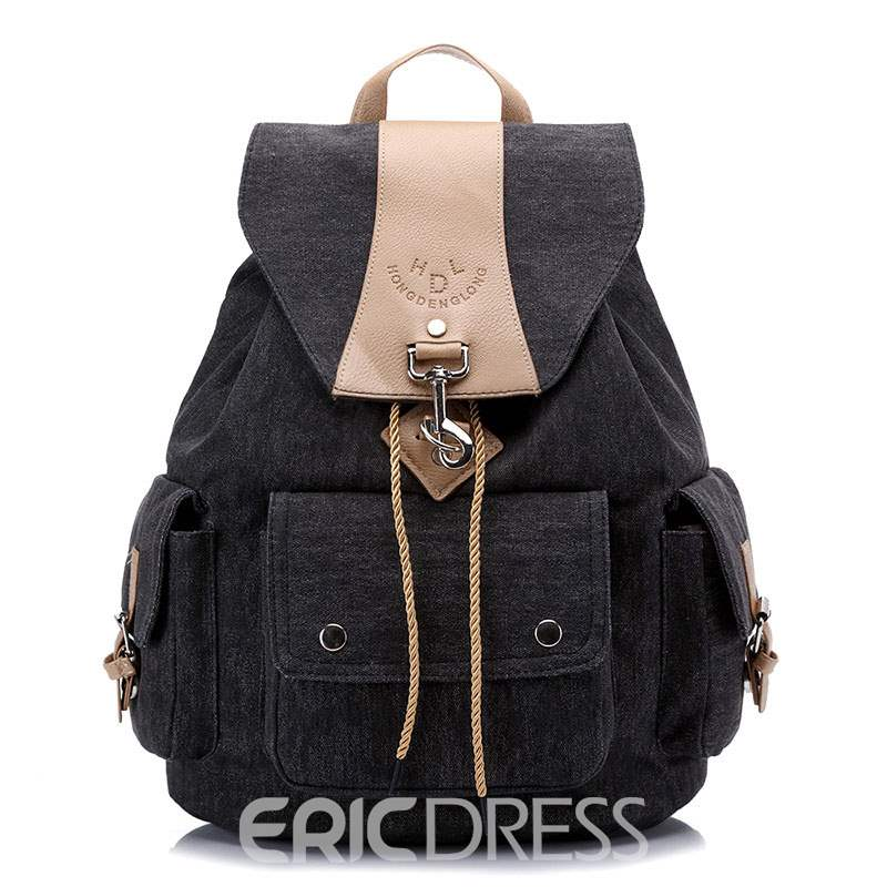 Ericdress Casual Canvas Unisex Travelling Backpack