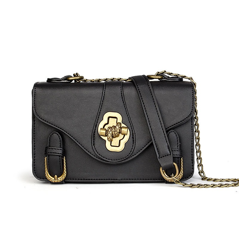 Ericdress Korean Style Latch Chain Crossbody Bag