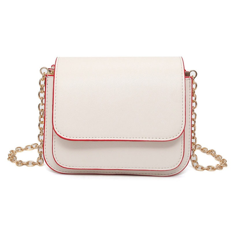 Ericdress Korean Style Solid Color Crossbody Bag