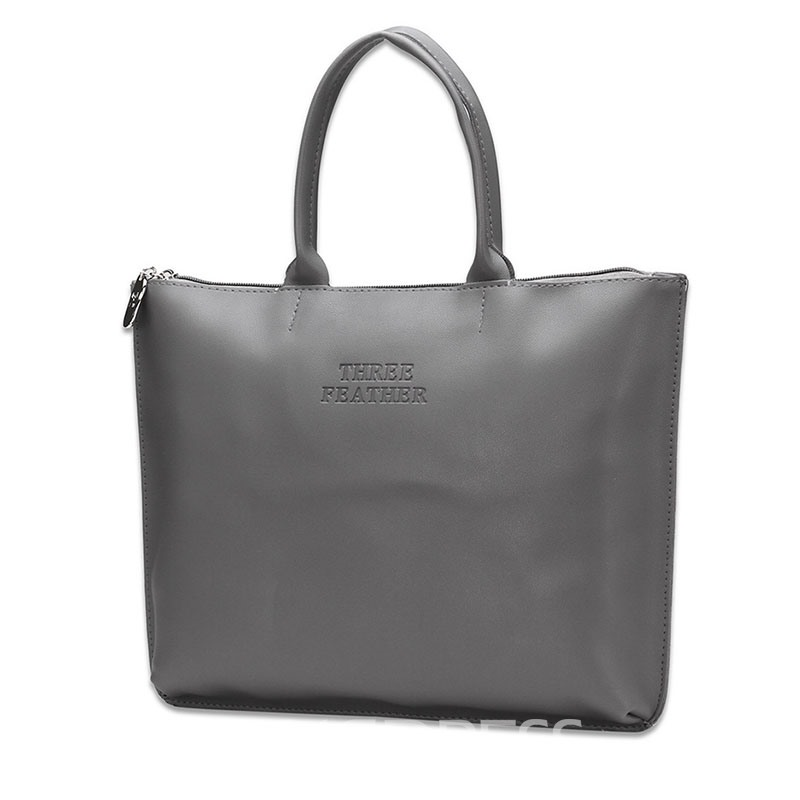 Ericdress Concise Business Style PU Tote Bag