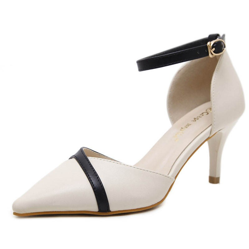 Ericdress Fashionable Color Block Stiletto Pumps