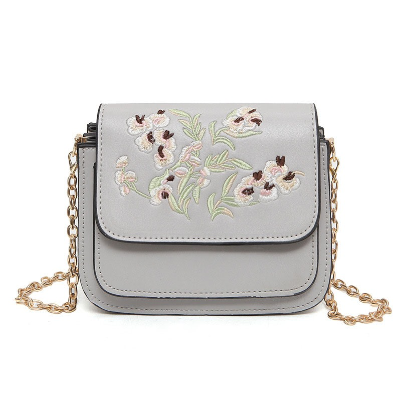Ericdress All Match Embroidery Multilayer Crossbody Bag