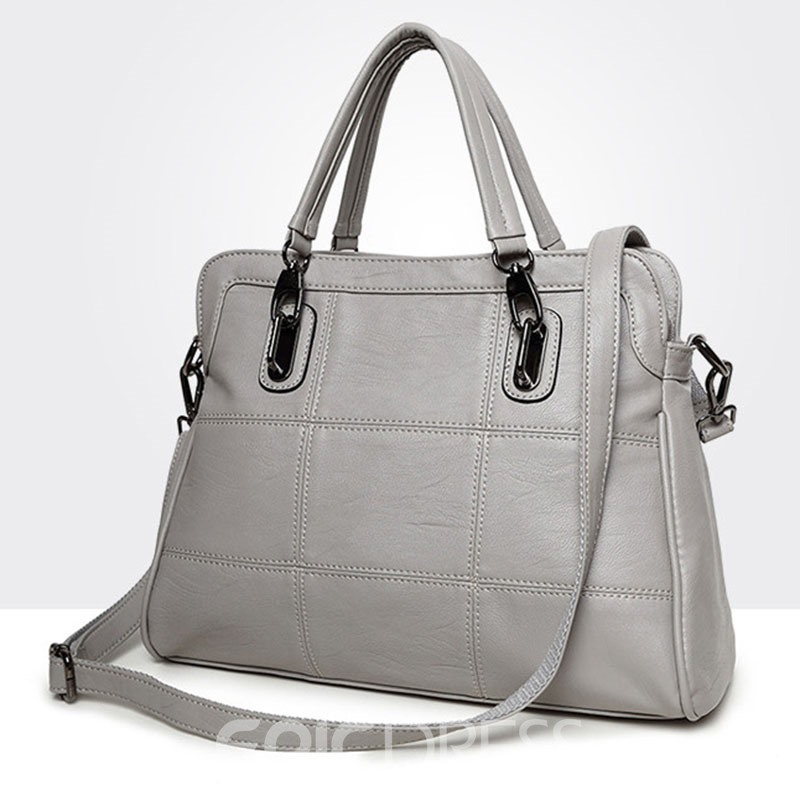 Ericdress Casual Huge Capacity Zipper Handbag