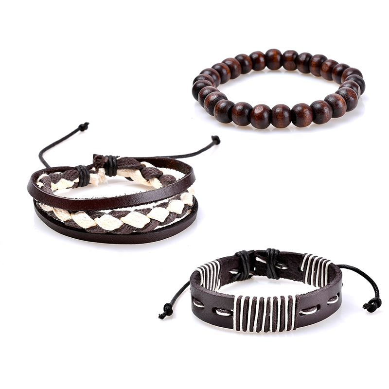 Ericdress Layered Leather Women's Bracelet
