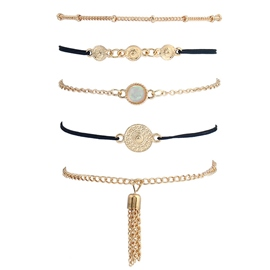 Ericdress Multilayers Alloy Chain OL Style Bracelet for Women