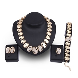Ericdress Classic Gold Color High Quality Jewelry Set