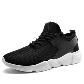 Ericdress Breathable Round Toe Patchwork Men's Athletic Shoes