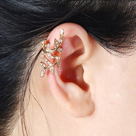 Ericdress Diamante Hollow Out Ear Clip for Women