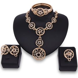 Ericdress Hollow Out Alloy Women's Jewelry Set