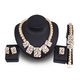 Ericdress Luxurious Gold Color Jewelry Set for Women
