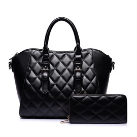 Ericdress Quilted Lining Pattern PU Women Handbag