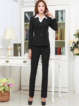 Ericdress Long Sleeves Single-Breasted Suits