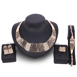 Ericdress Luxurious Four-Piece Women's Jewelry Set