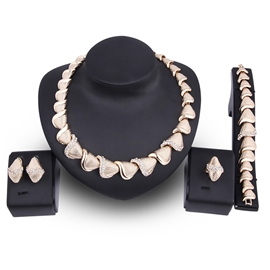 Ericdress Boutique Gold Color Party Accessories Jewelry Sets For Women