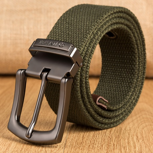 Ericdress Pin Buckle Woven Strap Men's Belt
