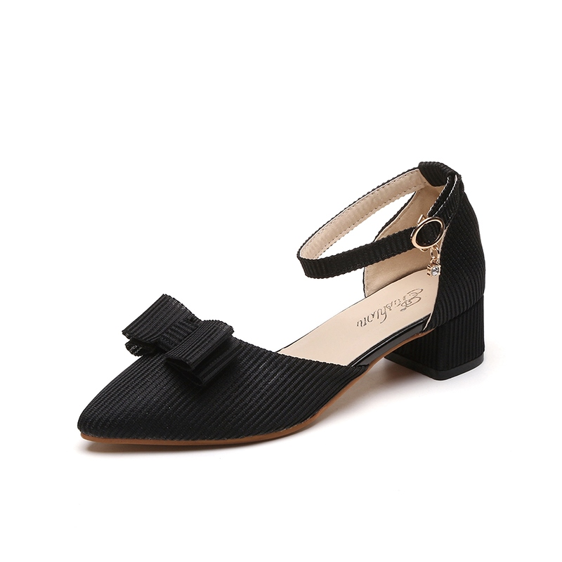 Ericdress Pointed Toe Low-Cut Women's Pumps with Buckle
