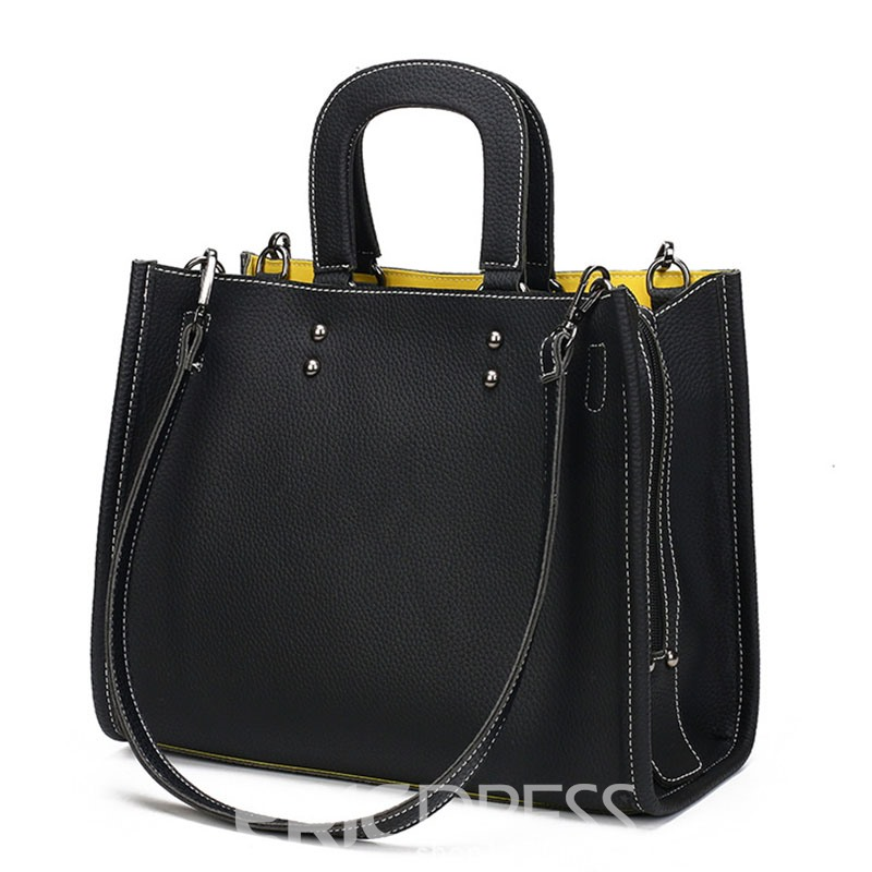Ericdress Korean Style Casual Patchwork Women Handbag