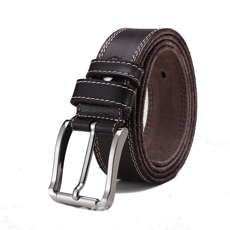 Ericdress New Style Vintage Genuine Leather Pin Buckle Men's Belt
