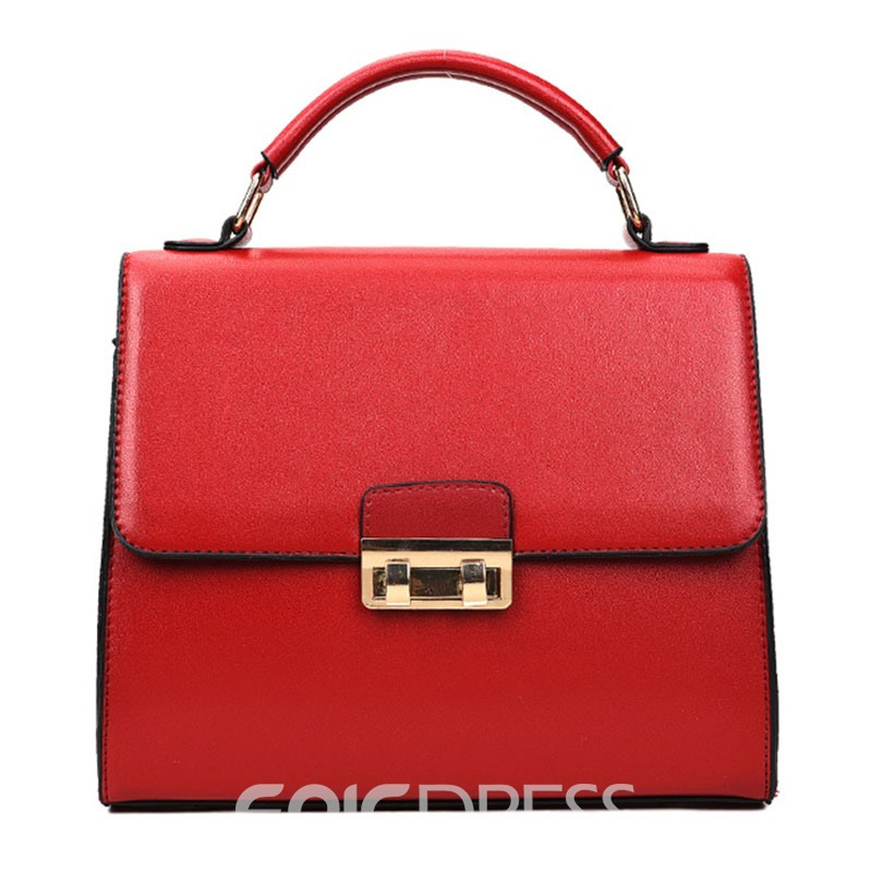 Ericdress Occident Style Solid Color Handbag( 3 Bags)
