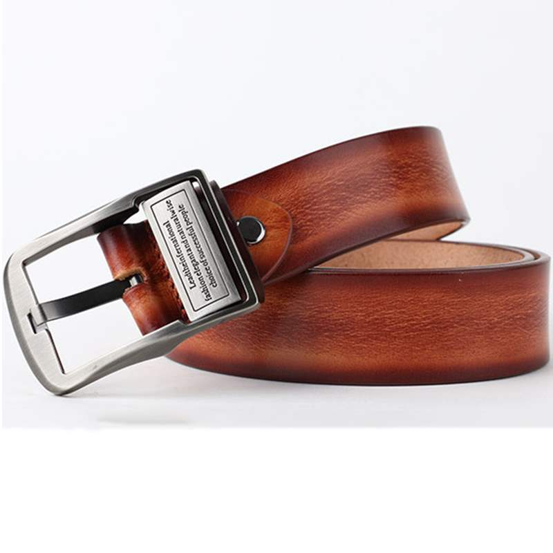 Ericdress High Quality Pin Buckle Leather Belt for Men