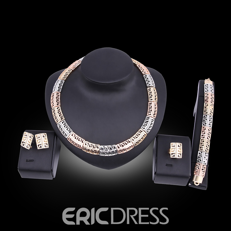 Ericdress Women Party Accessories Bridal Rhinestone Jewelry Set