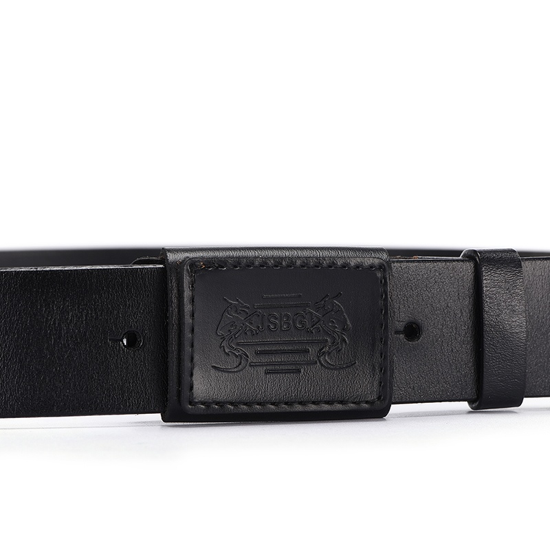 Ericdress High-End Allergy Free Genuine Leather Smooth Buckle Belt