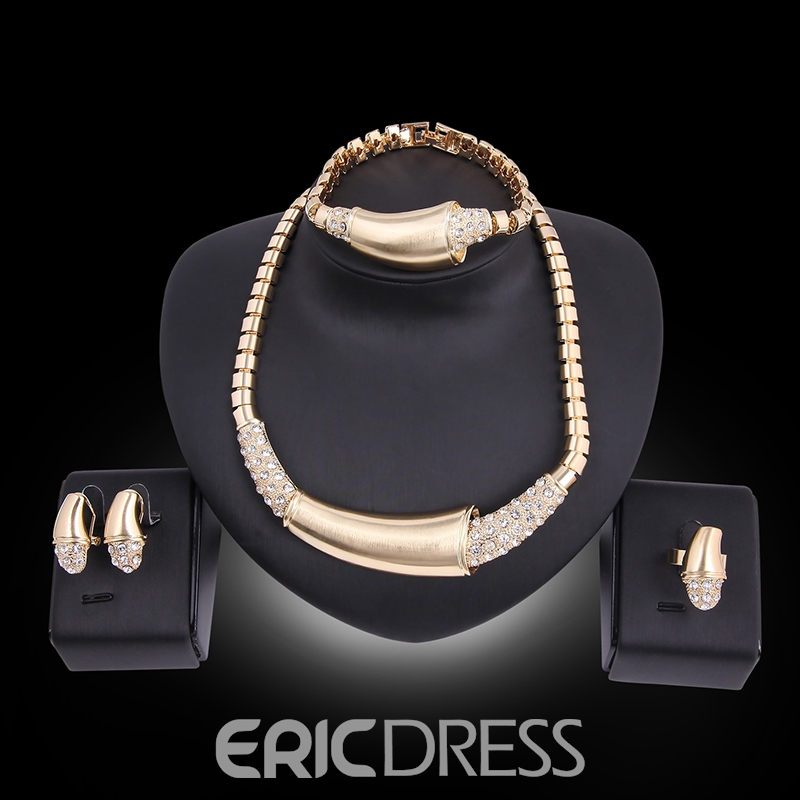 Ericdress Unique Design Diamante Jewelry Set for Women