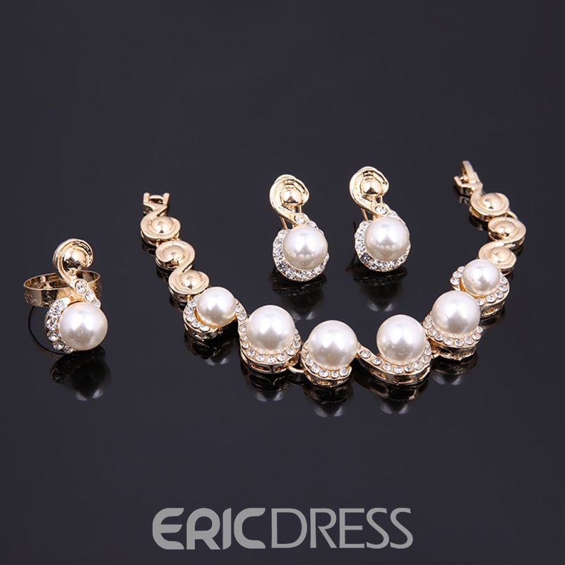 Ericdress Simulated Pearl Women's Elegant Jewelry Set